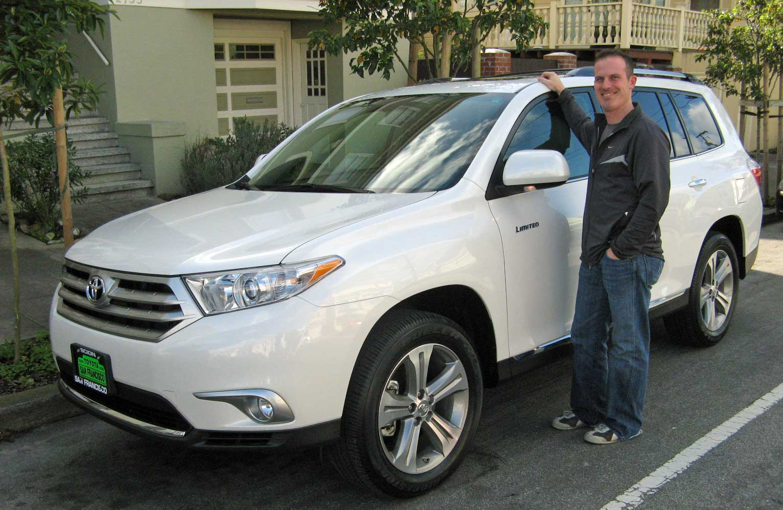 Toyota Blizzard Pearl >> David and 2011 Highlander